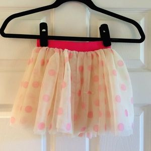 Girls H&M Polka Dot Tutu Inspired Skirt (Size 3-4)